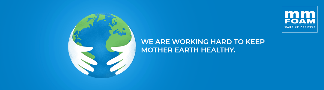 We are working hard to keep Mother Earth healthy.