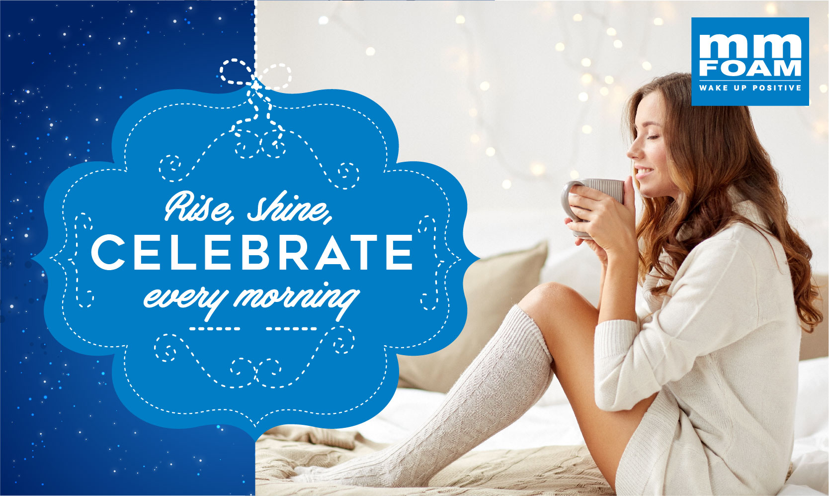 Wake up and celebrate the season.